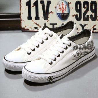 Giày sneaker thời trang nam ( trắng )