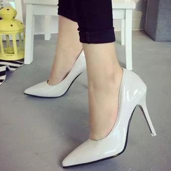 Giày nữ cao gót - 153 (Xám)