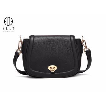 Túi xách nữ cao cấp da thật ELLY – ET20 màu đen