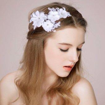 Trâm cài tóc cô dâu bông hoa xinh xắn dễ thương TS-HS2010