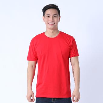 Áo Thun Nam Cổ Tròn (Đỏ)