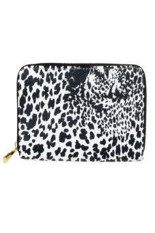 HKS Women Leopard Printing Wallet Black - intl