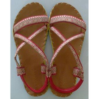 Sandal thổ cẩm baby (Bò)TFB8532 #32