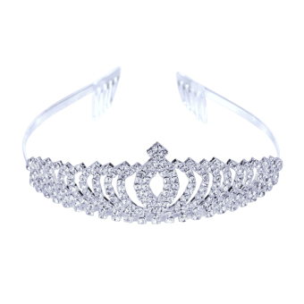 Bride Wedding Crown Diamond Ornaments (Intl)