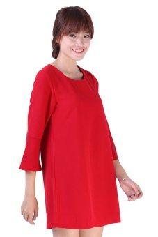 Đầm LADA BQ003 (Đỏ đô)
