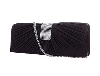 niceEshop Satin Bridal Party Cocktail Evening Bag Clutch Handbag Prom Purse