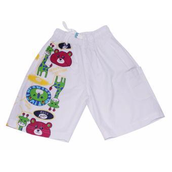 Quần short cho bé trai 3-8 tuổi Tri Lan QSBT017 (Trắng- S/M/L/XL)