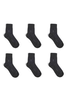 Bộ 6 đôi vớ cao cấp Tazatino (Đen)