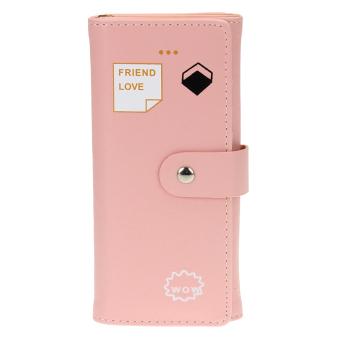 2016 Women PU Wallet (Pink) - intl