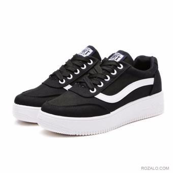 Giày sneaker thể thao nữ Rozalo RWG8001B-Đen