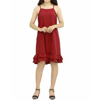 Đầm yếm chân bèo