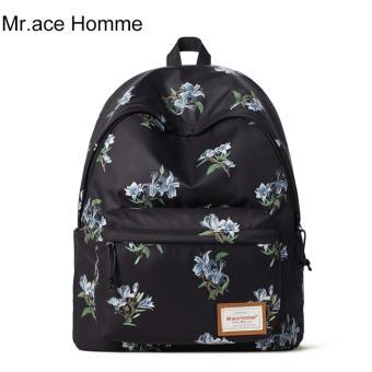 Balo Thời Trang Mr.ace Homme MR16A0198Y01 / Đen phối hoa