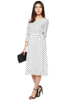 Đầm vintage chấm bi – D03415130