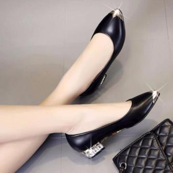 Giày búp bê da đế đính đá - MS:G799