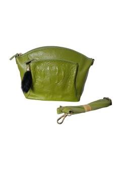 Túi xách da nữ Vkevin NH412 (Xanh cốm)