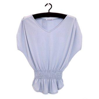 Áo kiểu nữ trung niên Ugether UPAR17 (Xám)