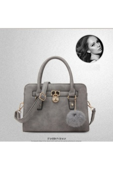 Túi xách nữ thời trang, kiểu dáng thanh lịch Q517 ( Màu ghí xám)