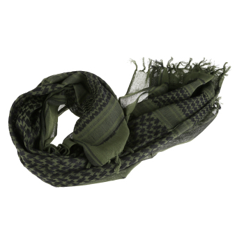 Army Military Tactical Arab Shemagh Keffiyeh Shawl Scarves Wrap Army Green