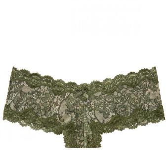 Quần lót victoria's secret very sexy lace-trim cheeky panty (hoa văn) V349