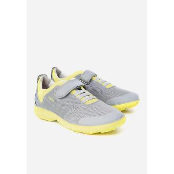 Giày sneakers Geox J Nebula B.A Grey/Lime