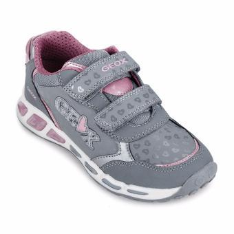 Giày thể thao trẻ em J SHUTTLE G.E (Xám & Hồng)