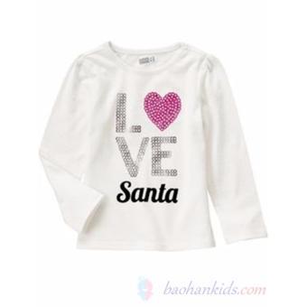 Áo thun tay dài Love Santa - Crazy8
