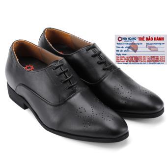 HL7188 - Giày tăng chiều cao Huy Hoàng màu đen