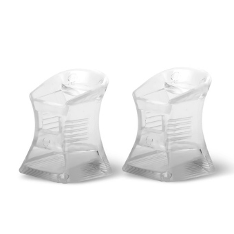 2 PCS Women Lady High Heel Shoes Protector Covers Shoes Care Product Transparent L