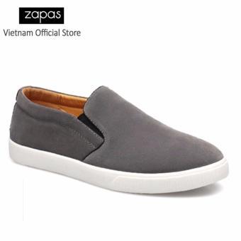 Giày Lười Nam Thời Trang Zapas GL012 ( Xám )