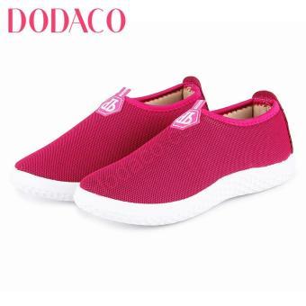 Giày Lười Nữ DODACO DDC1838 (Hồng)