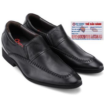 HL7187 - Giày tăng chiều cao Huy Hoàng màu đen