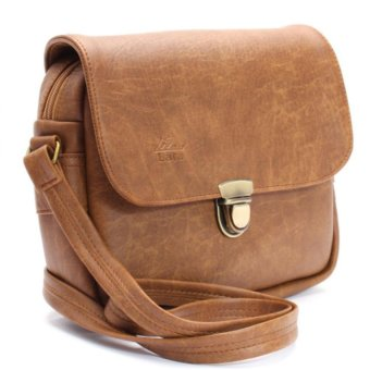 Túi đeo chéo LATA HN07 (Da bò nhạt)