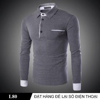 Áo Thun Nam Tay Dài L80
