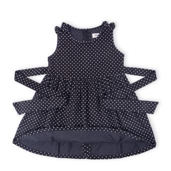 Đầm bé gái Oiwai 68-4067-413 BLK (đen)