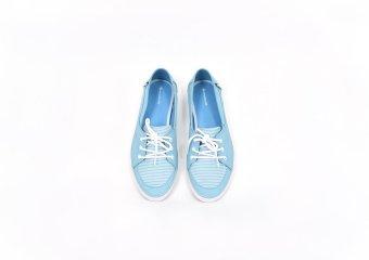 Giày lười nữ thời trang ANANAS 40117 (Xanh biển)