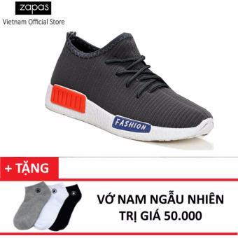 Giày Sneaker Zapas - GS064 (Xanh) + Tặng Vớ