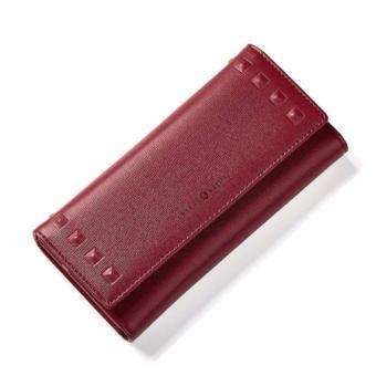 Bóp ví nữ thời trang Weichan A513-55B (Đỏ rượu)