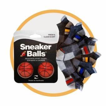 Combo 3 đôi vớ nam cao cấp Sport Sofsole và bóng khử mùi kháng khuẩn Sneaker balls - Basketball-Int: One size