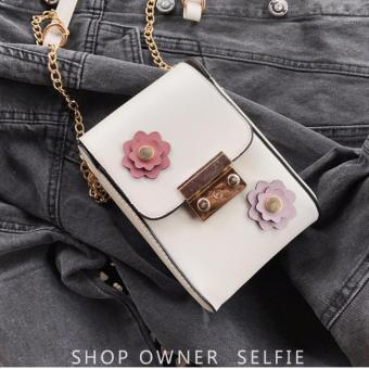 Túi đeo chéo điện thoại FLOW BTS-FL03 (TRẮNG)