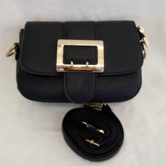 túi xách đeo chéo nữ (đen) 011230