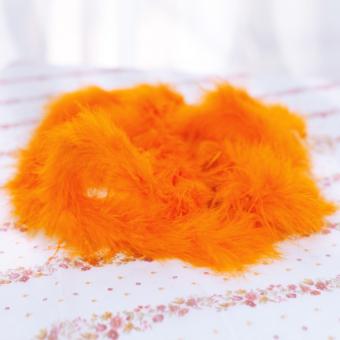Six ft Marabou Feather Boa for Diva Night Tea Party Wedding - Orange - Intl