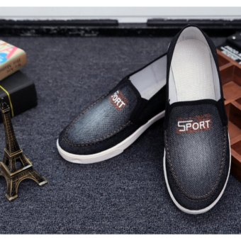Giày vải bò nam ( đen )