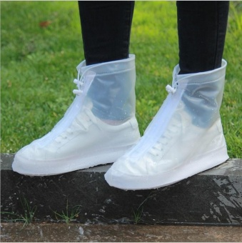 Bao giày đi mưa, thời trang, chống trơn trượt, siêu bền(Size L)