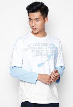 Áo phông OASIS Thái Lan MTXL496 (Trắng)