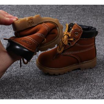 Giày bốt siêu nhẹ bé trai - GTE 5.3 (Da bò)
