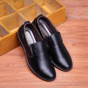 Giày da nam Rozalo RMG5171B-Đen