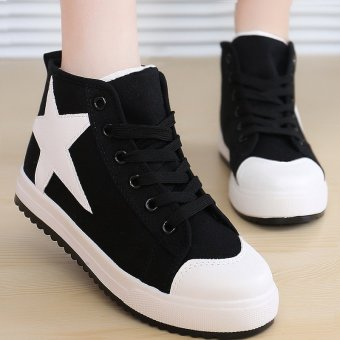Giày Sneaker Thời Trang Nữ Erosska – GN007 (Đen)