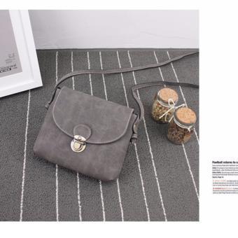 Túi xách đeo chéo mini Botusi-Vendor3(xám nhạt))