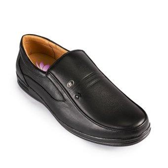Giày tây da bò thật TÀI LỢI TL-419 (Đen)