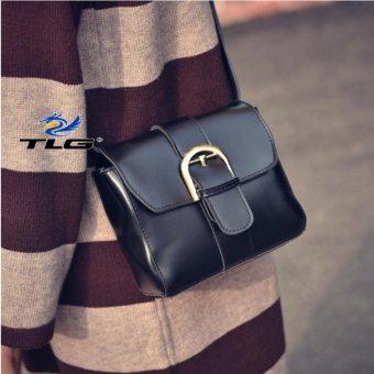 Túi đeo chéo phong cách Hàn Quốc Đồ Da Thành Long TLG 208093-3(đen)